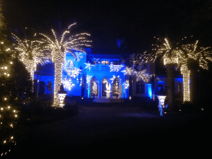 holiday house lighting